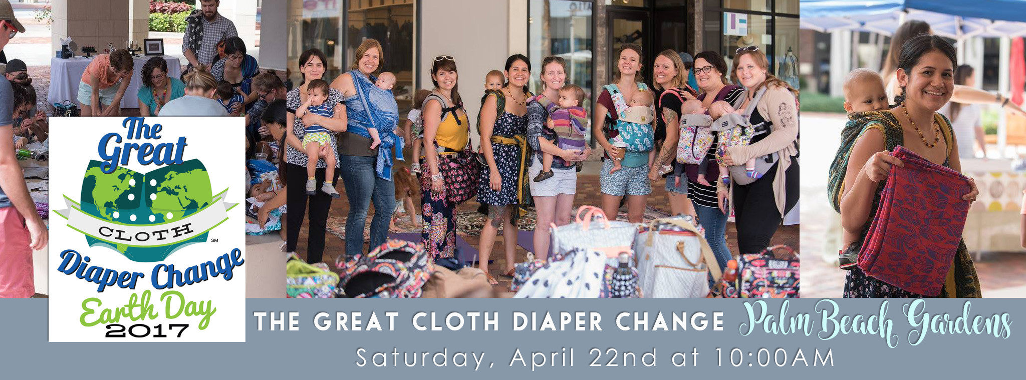 Great Cloth Diaper Change - Palm Beach Gardens 2017