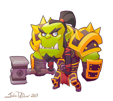 Thrall World of Warcraft Jujube GreenPath Baby