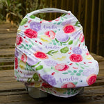 Car Seat 5-in-1 Cover - Personalized - Girls - ALL Styles- 3-6 Weeks Delivery