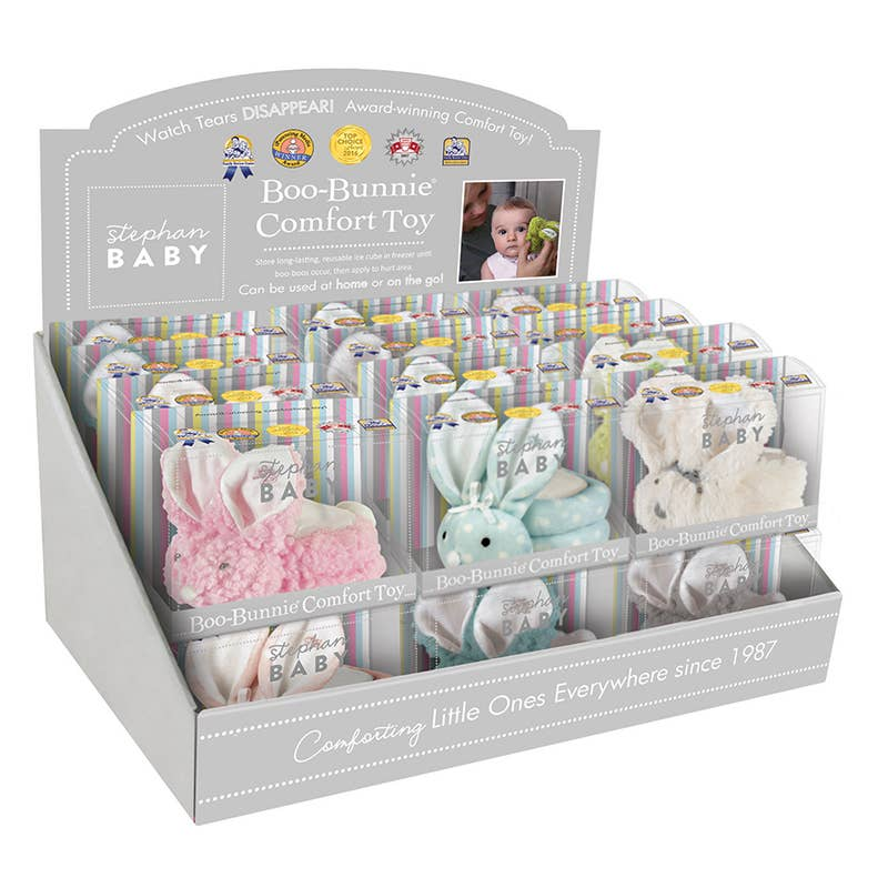 Stephan Baby by Creative Brands - Boo Bunnie Filled Display 24pc