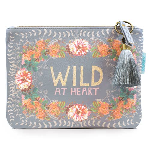 PAPAYA! - Pocket Clutch - Peachy Wild