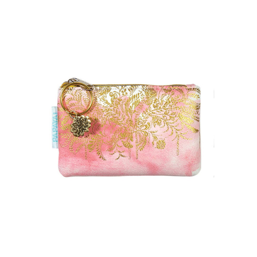 PAPAYA! - Coin Purse - Blush Watercolor