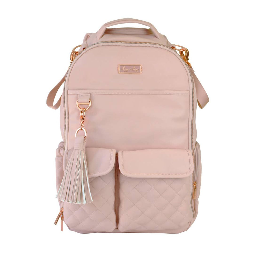 Itzy Ritzy - Blush Crush Boss Diaper Bag Backpack
