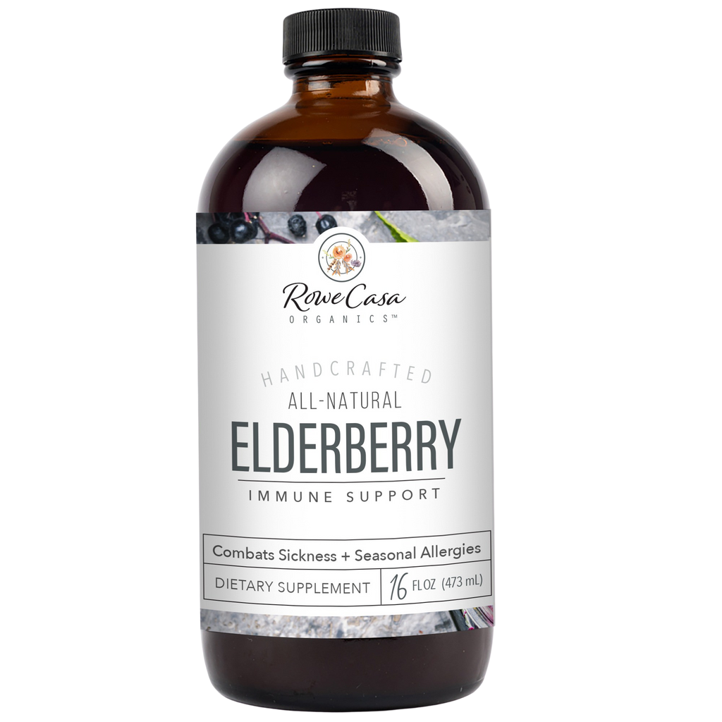 Rowe Casa Organics - Elderberry Immune Support