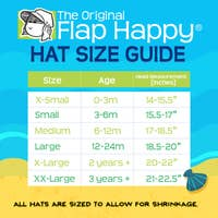 Flap Happy - UPF 50+ Organic Flap Hat