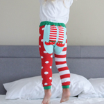 Doodle Pants - Holiday Elf Feet Leggings