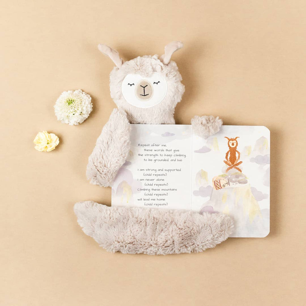 Slumberkins Inc. - Alpaca Snuggler - Hazel Limited Edition