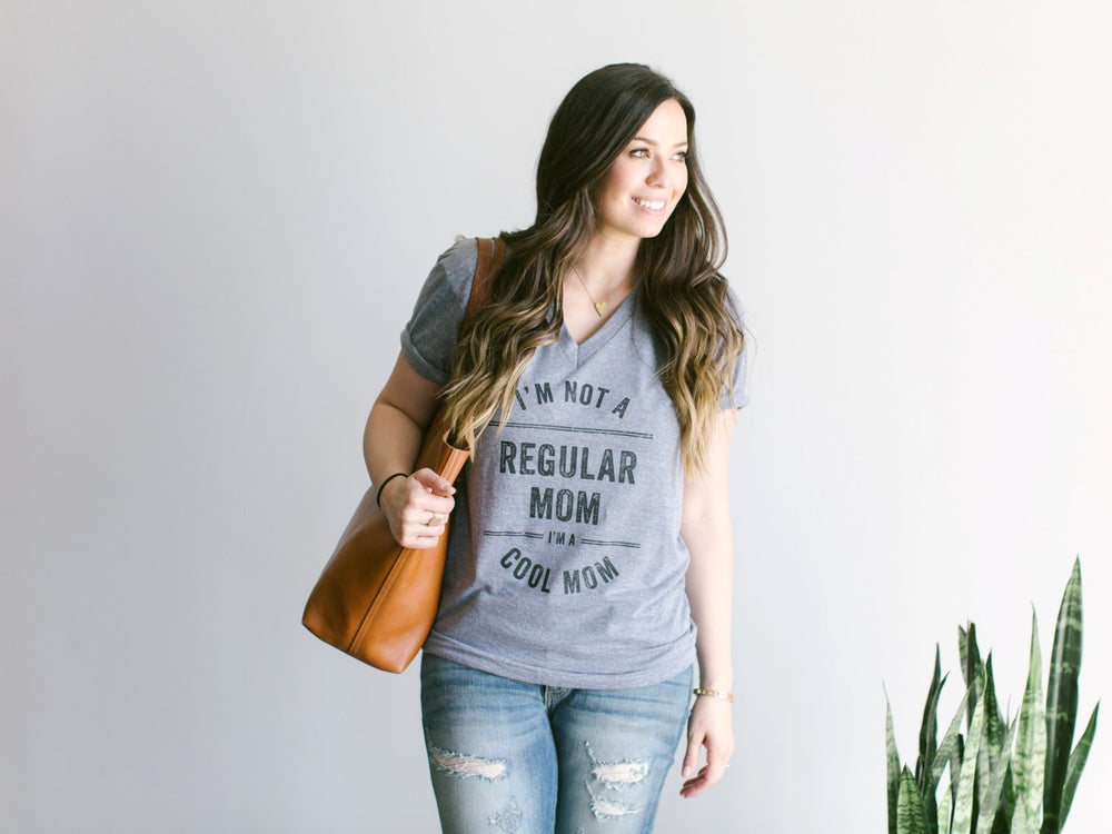 I'm Not A Regular Mom, I'm A Cool Mom Adult Tee