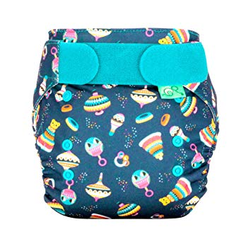 TotsBots Easy Fit Star Diaper - OS - ALL PRINTS