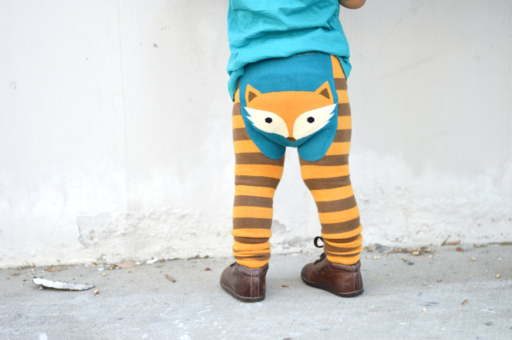 Doodle Pants - Woodland Fox Cotton Leggings