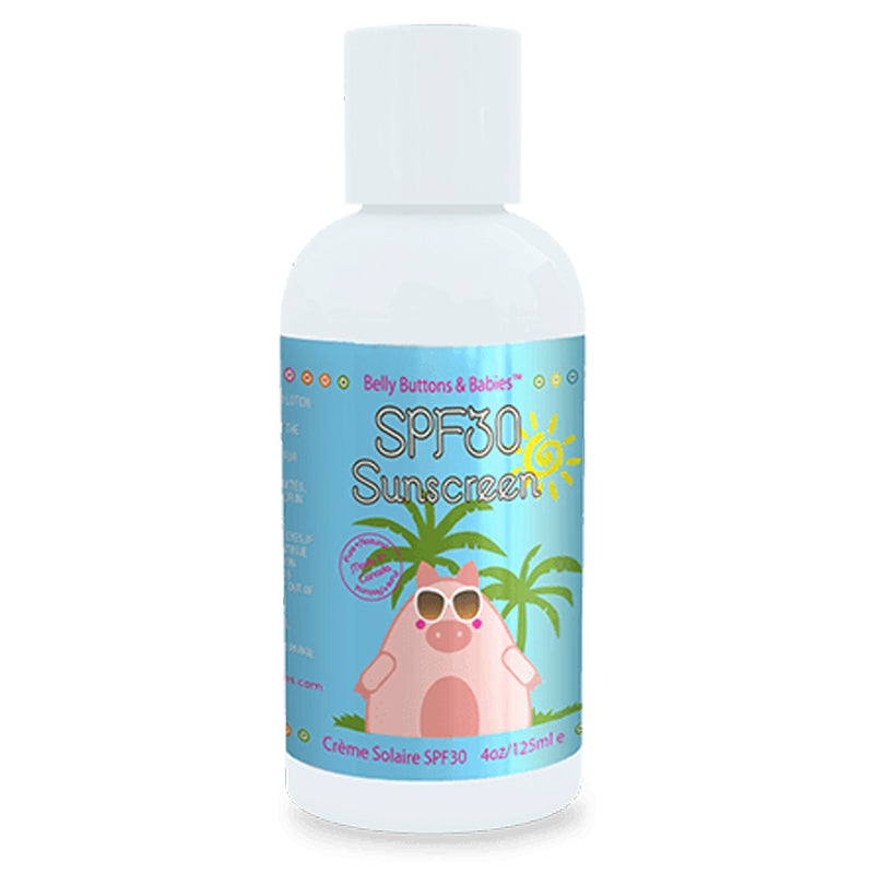 Belly Buttons and Babies - SPF 30 Sunscreen 4oz