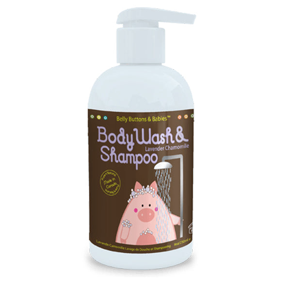Belly Buttons and Babies - Body Wash and Shampoo 8oz - ALL SCENTS