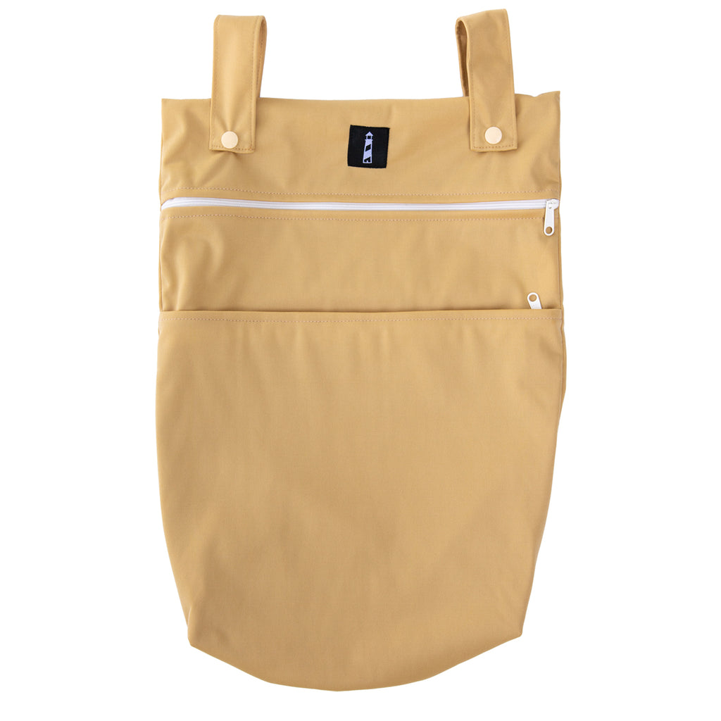 LKC SIGNATURE™️ - Double Pocket Wet Bag - April Showers Buttercup