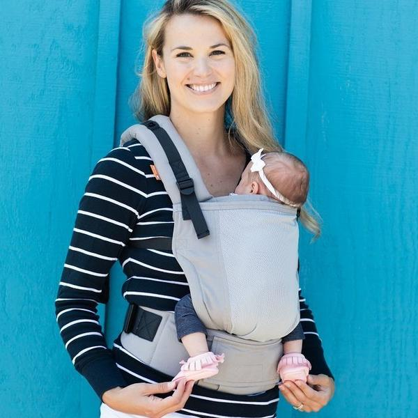 Tula Free To Grow Coast Baby Carrier - Overcast/Gray