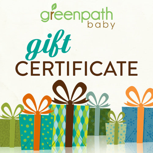 GreenPath Baby Gift Card - Gift Certificate