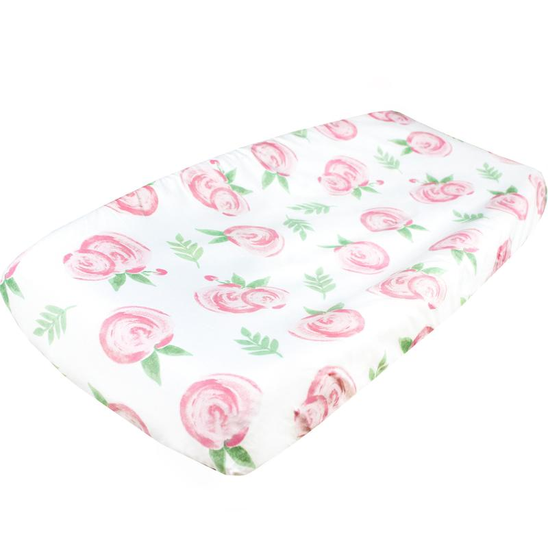 Diaper Changing Pad Cover- Grace