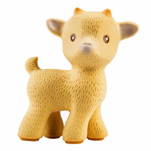 CaaOcho Natural Rubber Toy - Sola the Goat