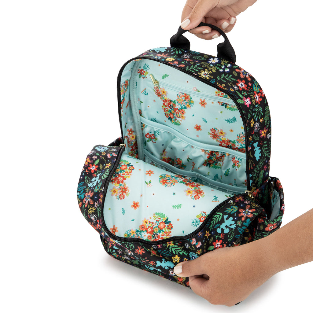 Jujube x Disney - Midi Backpack & Changing Pad - Amour des Fleurs
