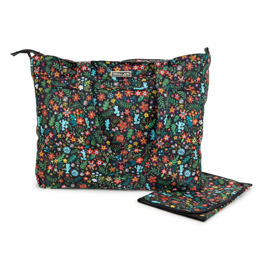 JuJuBe x Disney - Super Be & Changing Pad - Amour des Fleurs