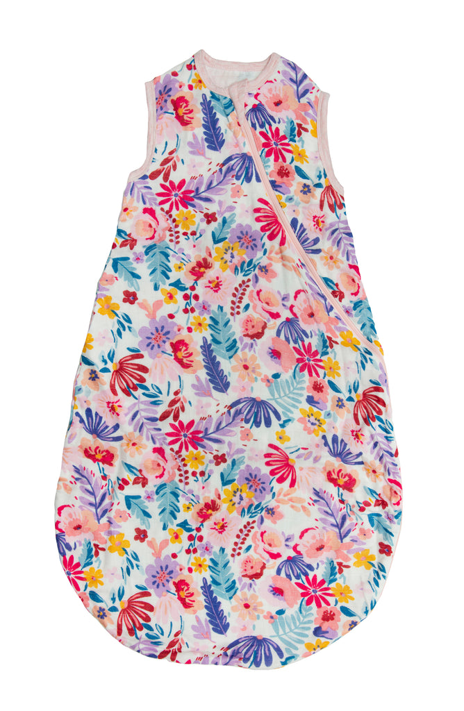 Loulou Lollipop - Sleeping Bag 1 TOG - Light Field Flowers