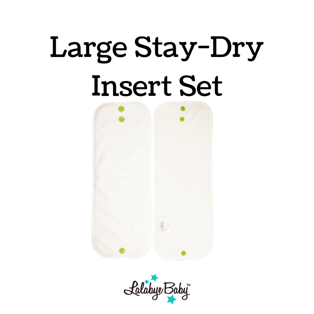 Lalabye Baby - Stay Dry Large Insert Set (2)