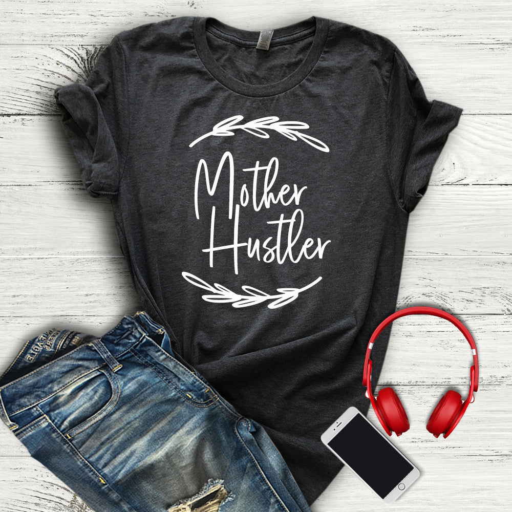 Mother Hustler Tee - EXCLUSIVE - Dark Gray