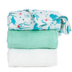 Tula Blanket Set - Naida (Mermaids)