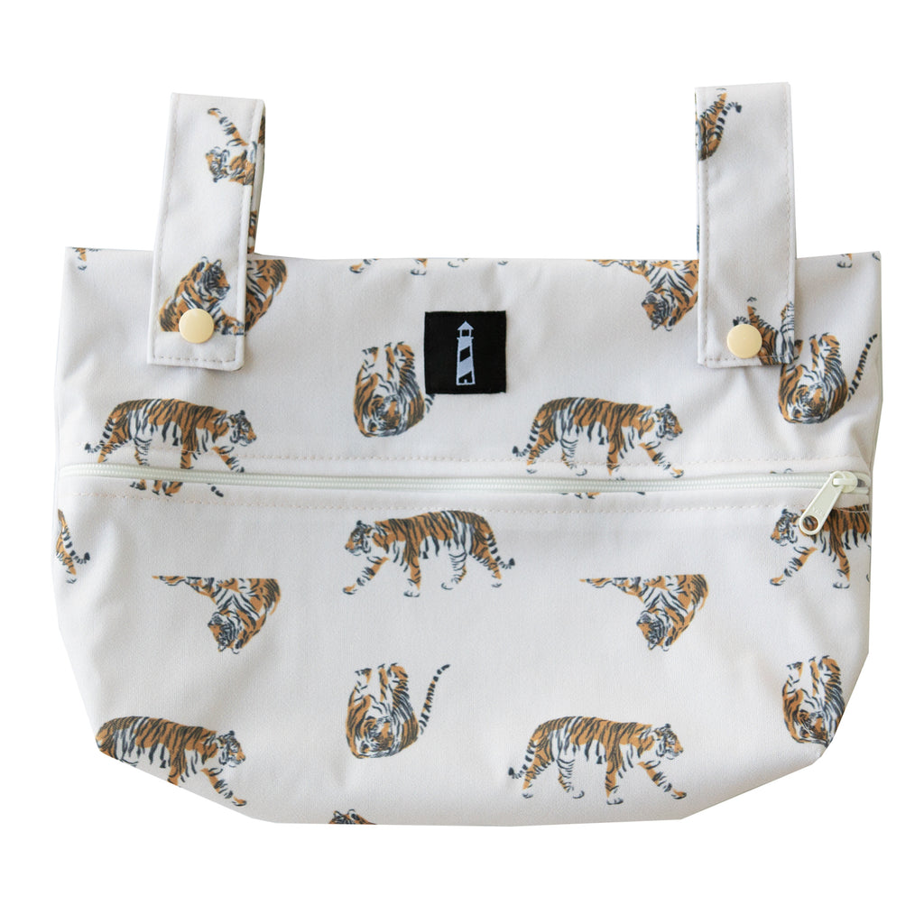 LKC SIMPLICITY™️ Small Wet Bag -Neutral Nature Tiger
