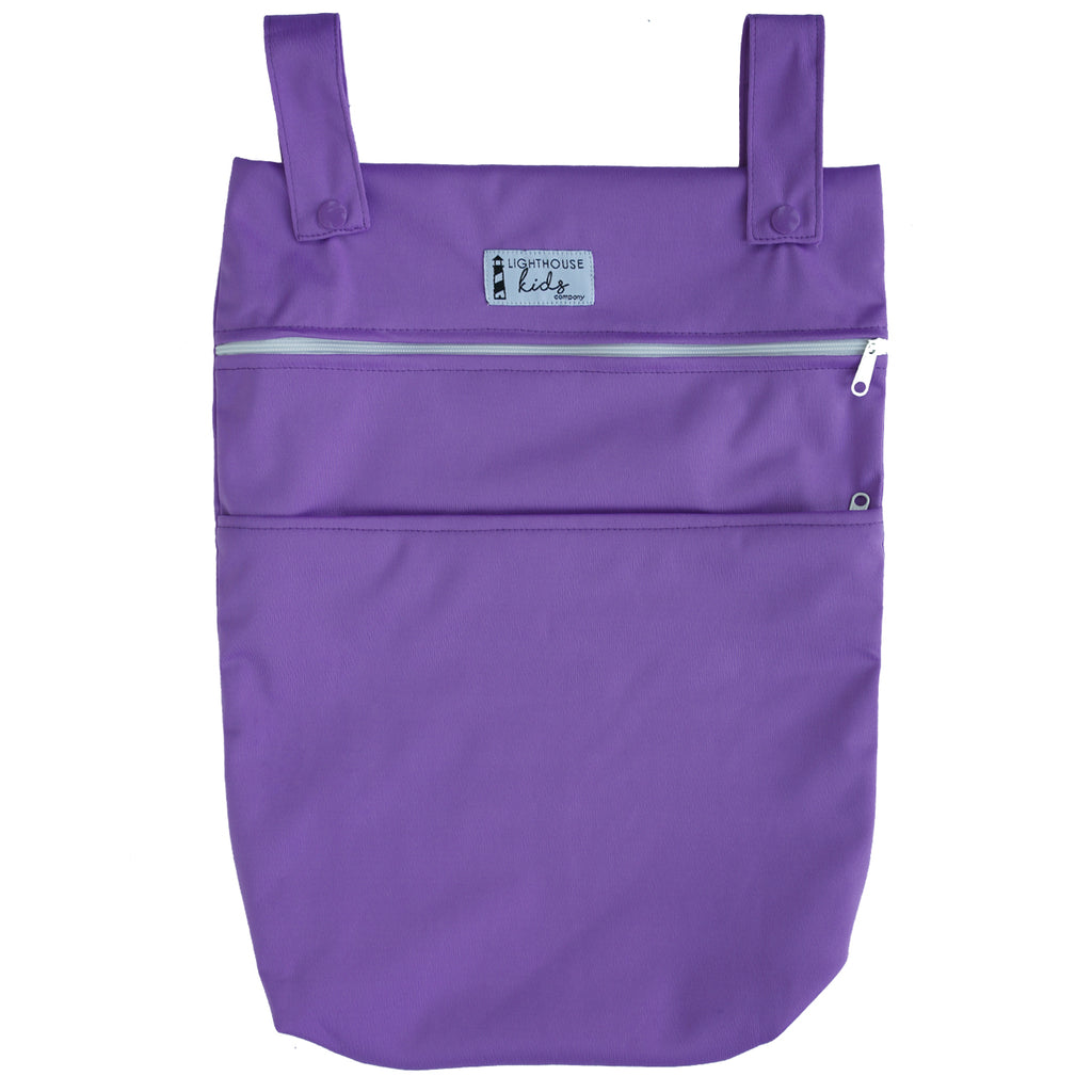LKC SIGNATURE™️ - Double Pocket Wet Bag - PEACOCK