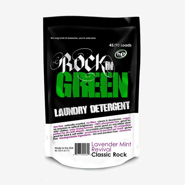 Rockin' Green Laundry Detergent - Classic Rock