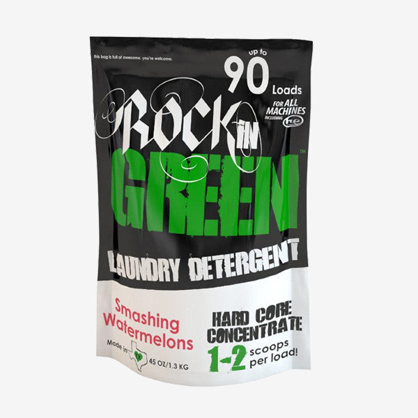 Rockin' Green Laundry Detergent - Hard Rock