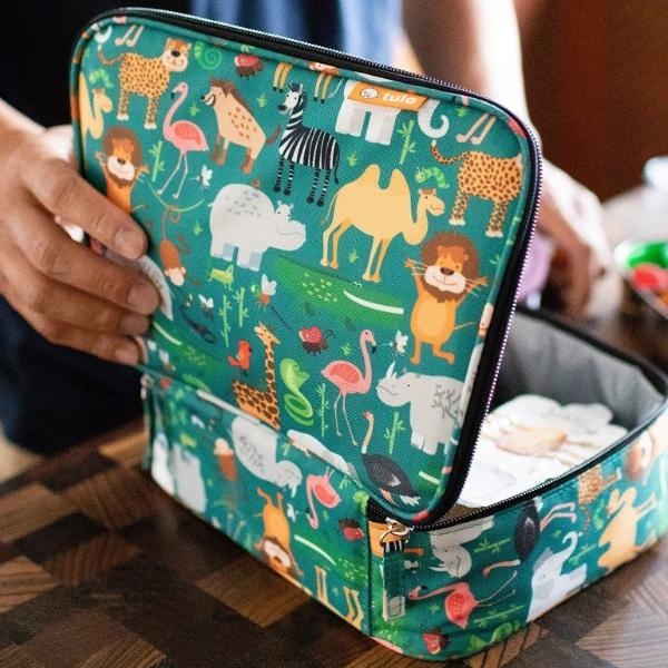 Tula Kids Lunch Bag - Safari
