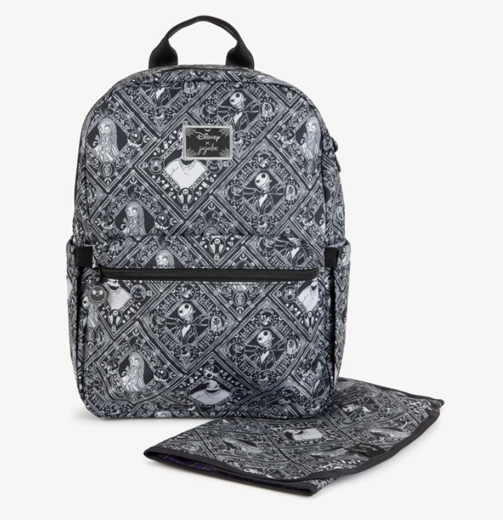 Jujube x Disney - Midi Backpack & Changing Pad - Nightmare Before Christmas