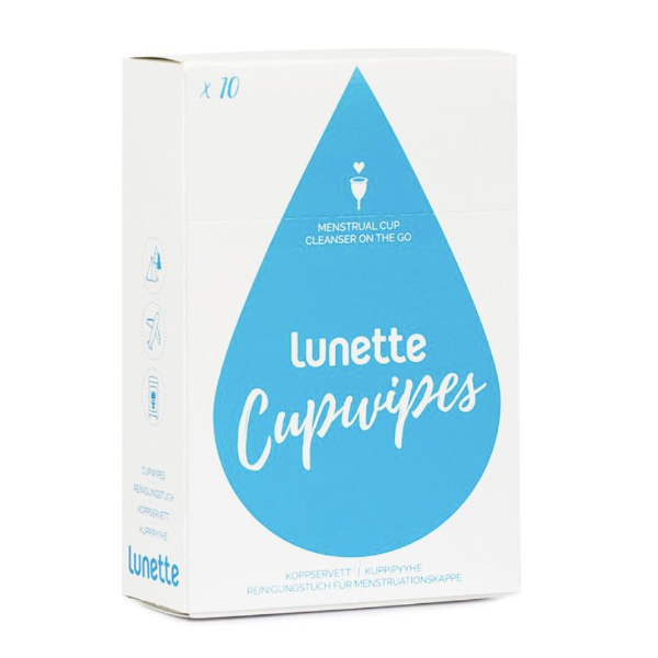 Lunette CupWipes - Ships directly from the manufacturer