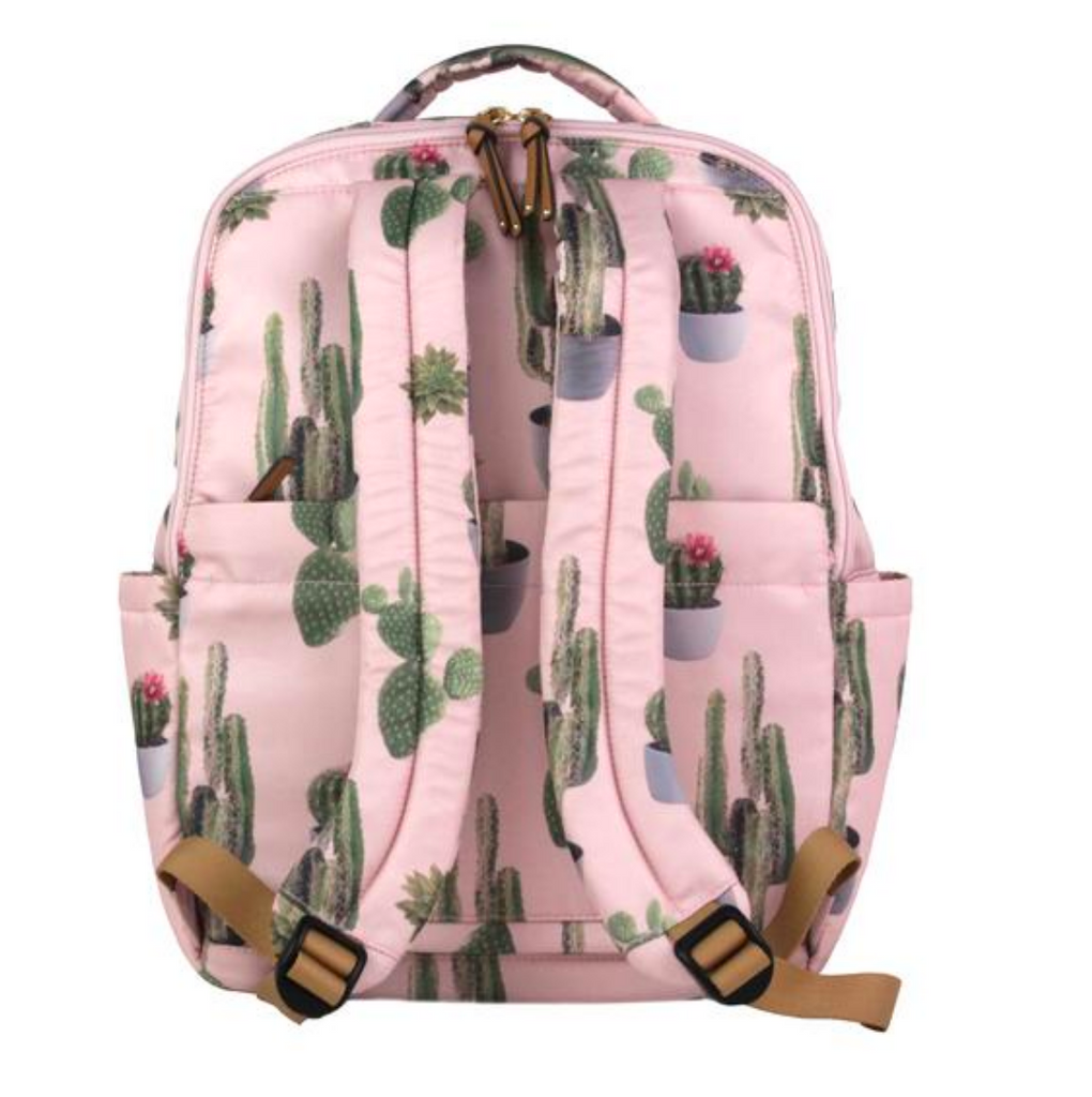 TwelveLittle On-The-Go Backpack Cactus Print