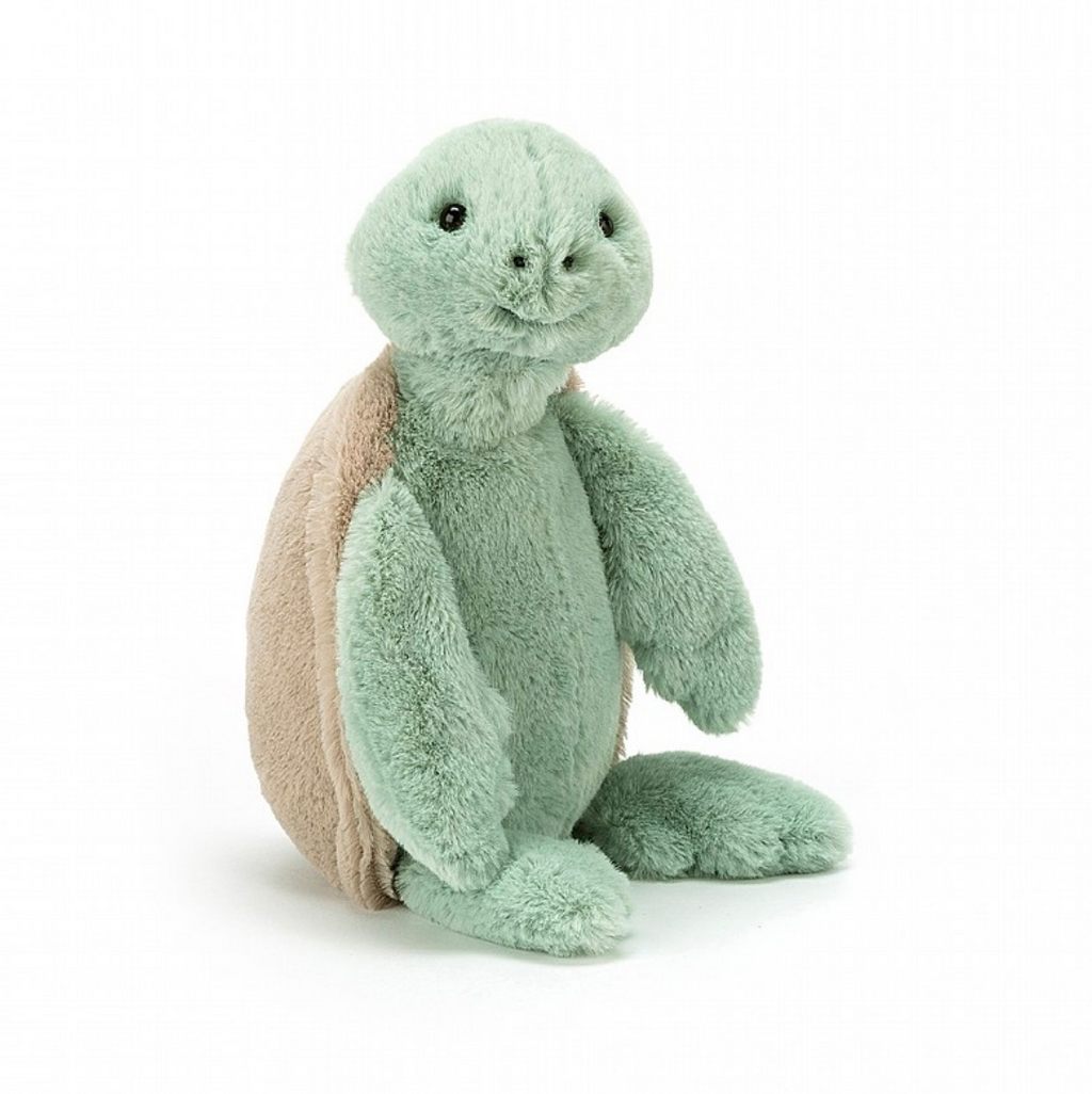 Jellycat Bashful Turtle Medium and Small