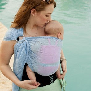 Beachfront Baby Water Ring Sling - GreenPath Baby - 1