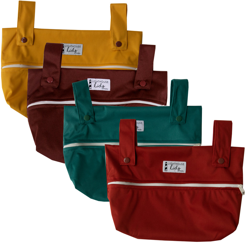 LKC SIMPLICITY™️ Small Wet Bag - FALL SOLIDS BUNDLE