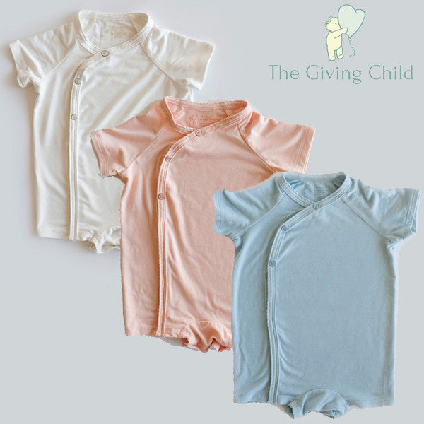 The Giving Child - Luxe Romper - ALL COLORS/Sizes
