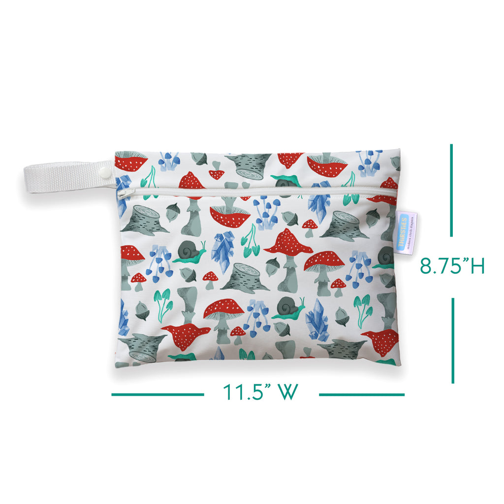 Thirsties Mini Wet Bag - Forest Frolic
