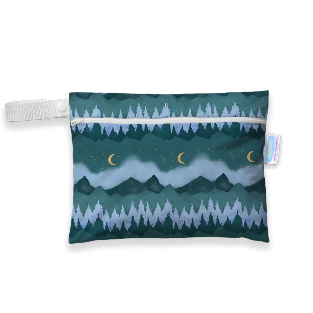 Thirsties Mini Wet Bag - Mountain Twilight