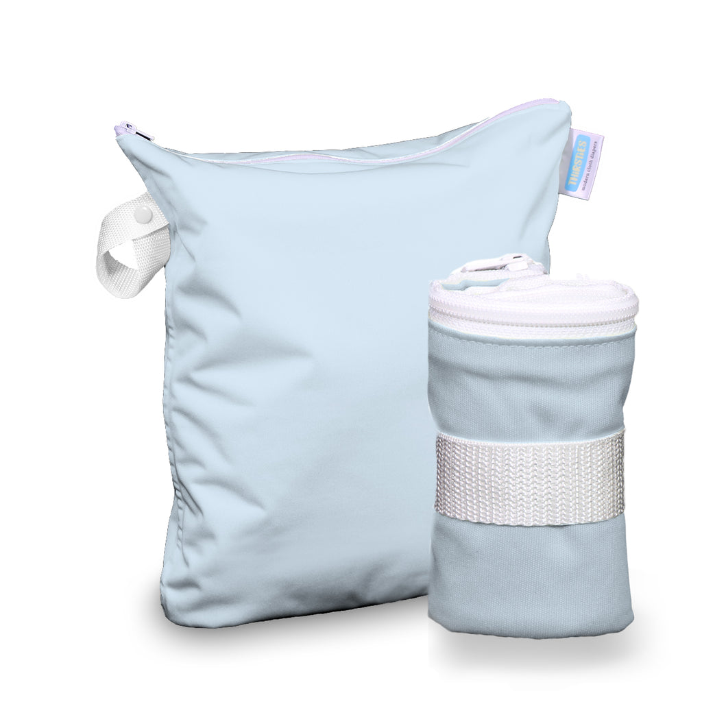 Thirsties Wet Bag - Ice Blue