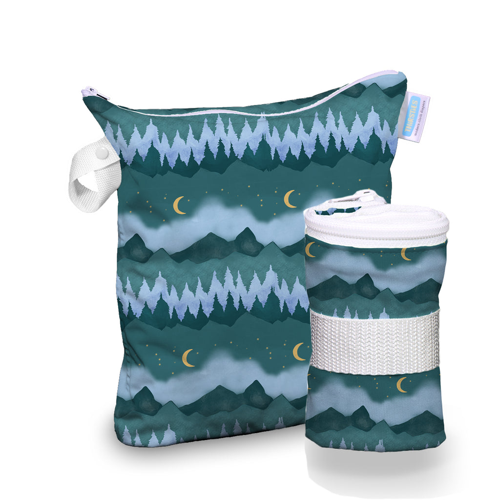 Thirsties Wet Bag - Mountain Twilight