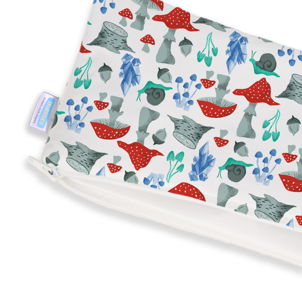 Thirsties Clutch Bag - Forest Frolic