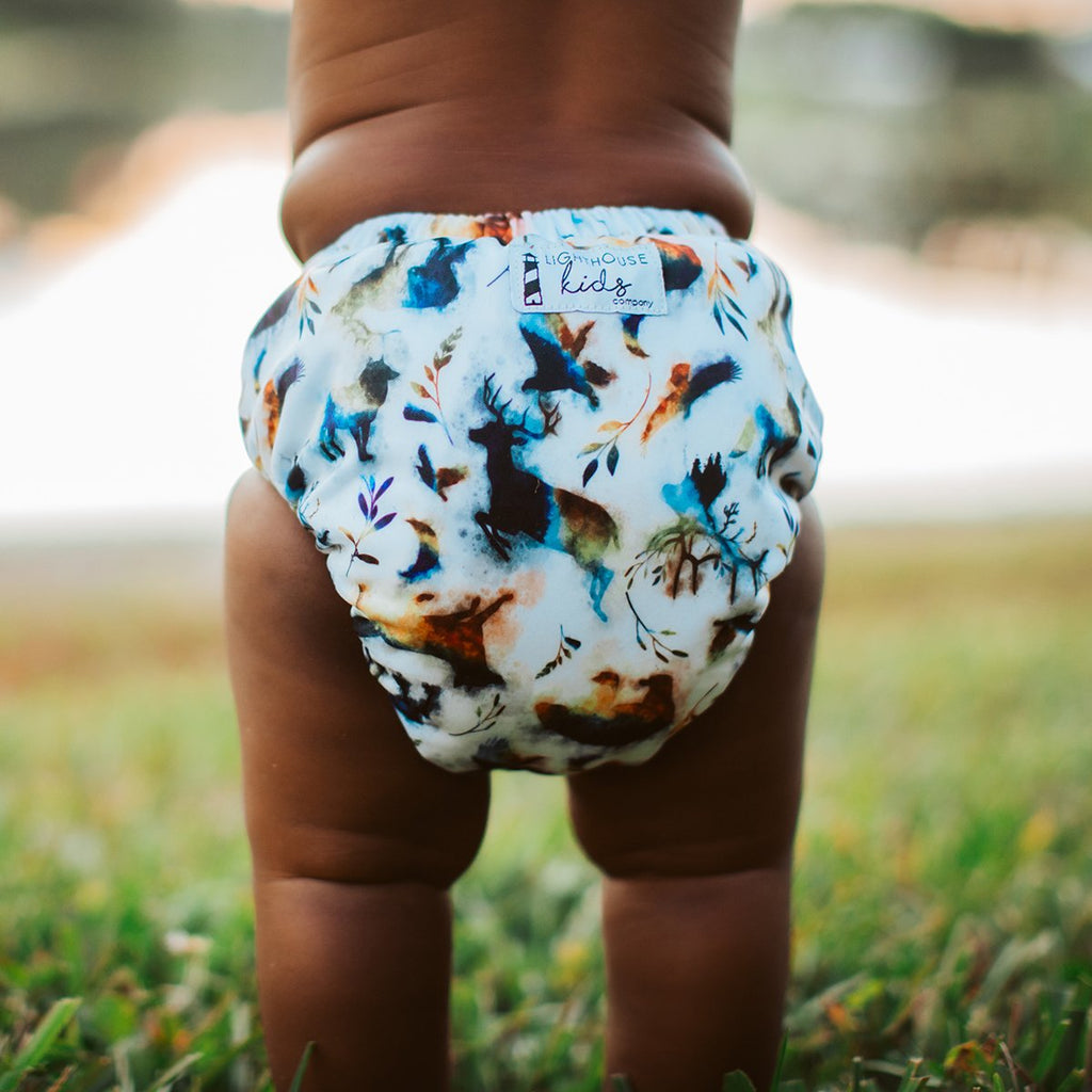 Into the Wild - SUPREME™️ - AIO Diaper - NO LARGE SUPREME INSERT
