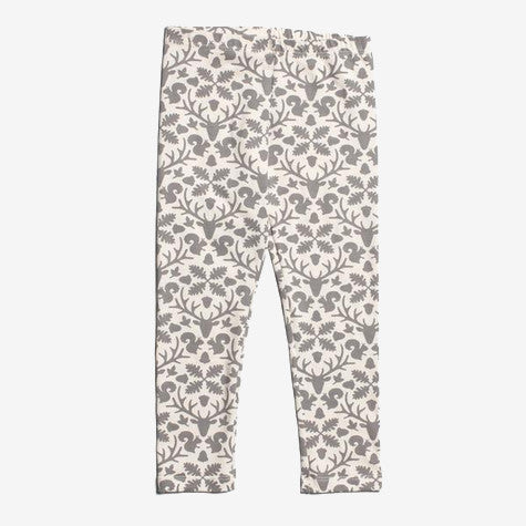 Winter Water Factory Baby Tights - Animal Kingdom Gray
