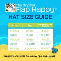 Flap Happy - UPF 50+ Organic Floppy Hat