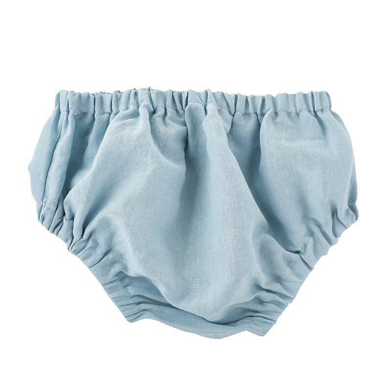 Stephan Baby by Creative Brands - Heirloom Blue Bloomers 6-12mo
