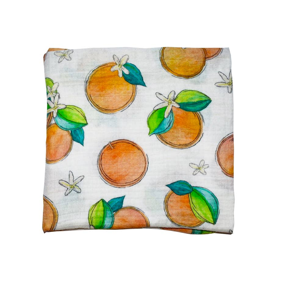 Florida Kid Co. - Orange Blossom Swaddle