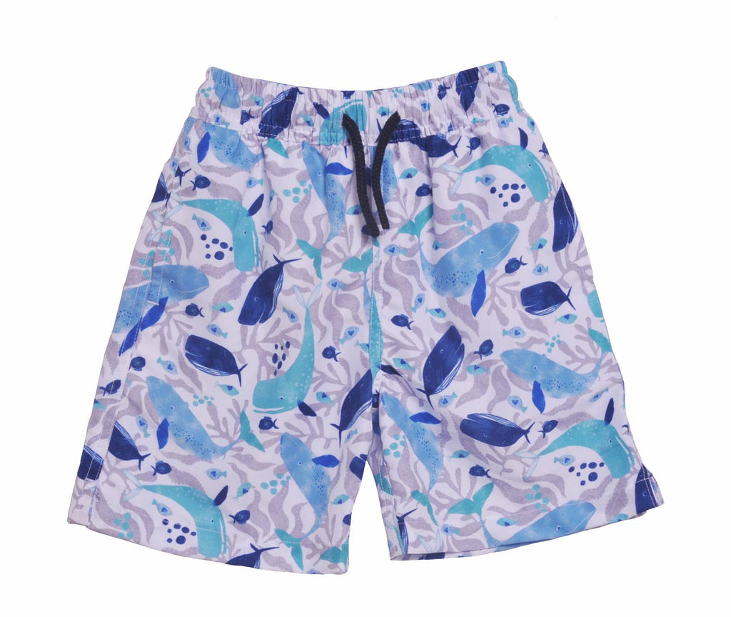 Flap Happy - UPF 50+ Wesley Swim Trunks with Mesh Liner